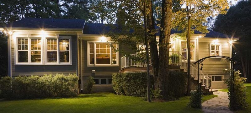 How To Protect Your Vacant Home - Purchase Bright Outdoor Lights
