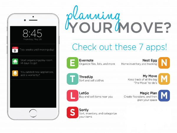 Popular Moving Apps