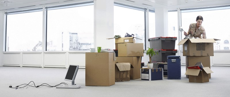 Commercial and office moving service from Qshark Moving Company